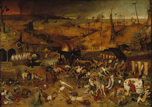 Il trionfo della morte di Pieter Bruegel il Vecchio, 1562, Museo del Prado, Madrid