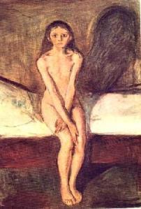 Eduard Munch , La pubertà